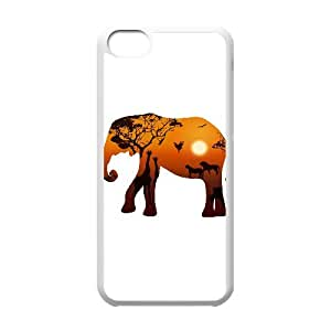 Cheap Elephant protective Case Cover Best For Iphone 5c FKLB-T506388