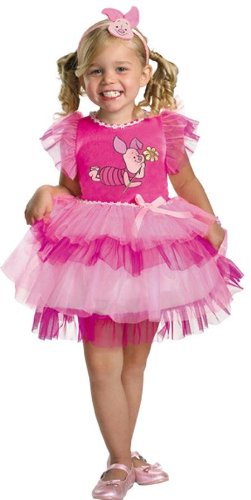 [Costumes For All Occasions Dg25645M Frilly Piglet Winnie Pooh 3-4T] (Baby Piglet Costumes)