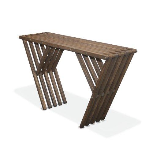 GloDea SDX90P1EBN Sideboard Table X60, Espresso Brown (Sideboards Outdoor)