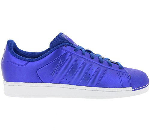Adidas Originals Superstar Heren Sneakers S31641 Sneakers Schoenen (us 8.5, Royal Blue White Bb4876)