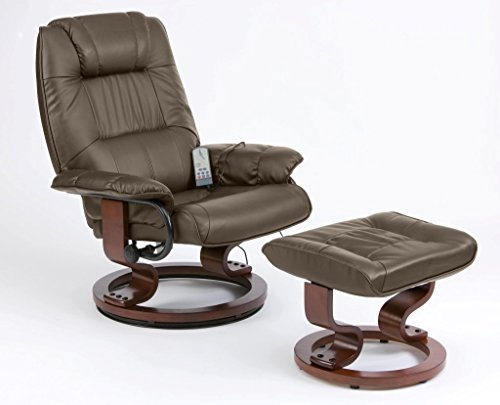 Drive DeVilbiss Healthcare Restwell Napoli Massage Chair with Foot Stool in...