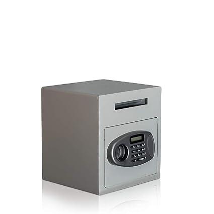 Caja fuerte tipo buzón, caja fuerte para depositar, cerradura electrónica, caja fuerte de