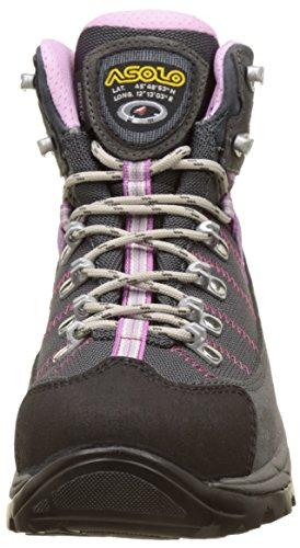 Women's High Asolo Shoes Gunmetal Revert ml Gv Grey Rise Grey Hiking I6BFBqxw