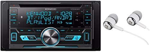 Kenwood Double-DIN In-Dash CD/MP3/USB Bluetooth AM/FM Car
