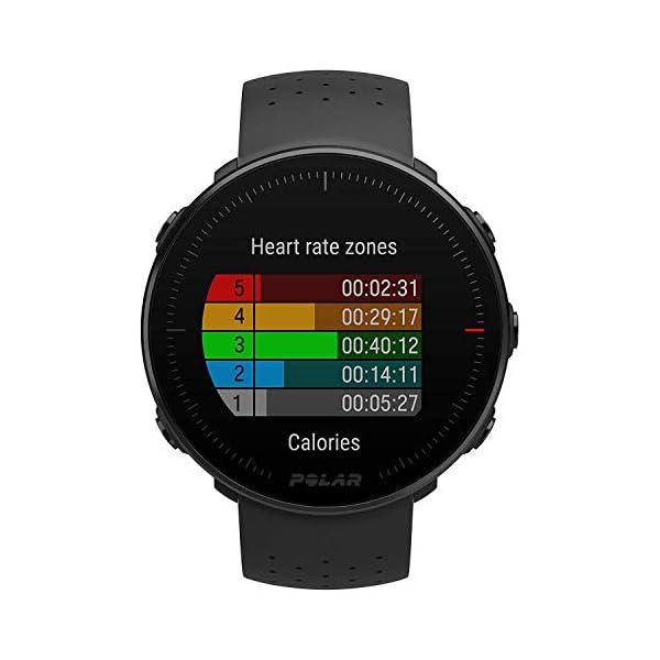 Polar Vantage M Sportwatch per Allenamenti Multisport, Corsa e Nuoto, Impermeabile con GPS e Cardiofrequenzimetro… 4 spesavip