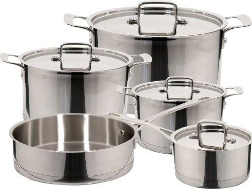 Magefesa 01BXINOX09 9-Piece Inoxia Stainless Steel Cookware Set by Magefesa