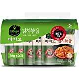 [ 5 Packs ] CJ Bibigo Korean Stir-fried Kimchi 김치볶음 80g