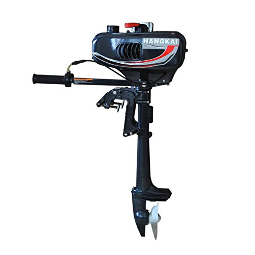 - KANING Outboard Motor, 2 Stroke 3.5 Hp Marine Engine Air Cooling with CDI Ignition Inflatable Fishing Boat USA Stock