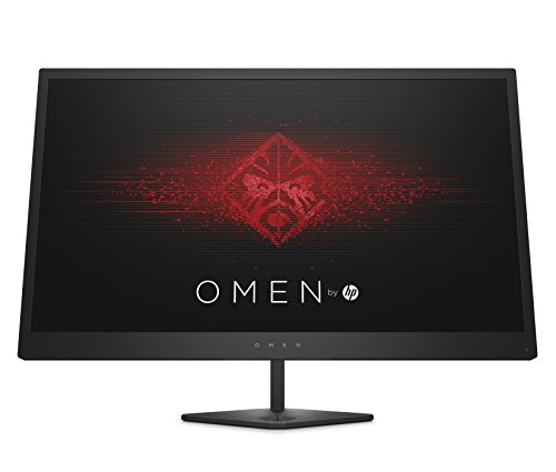 OMEN by HP 25-inch FHD Gaming Monitor with Tilt Adjustment and AMD FreeSync Technology (Black)