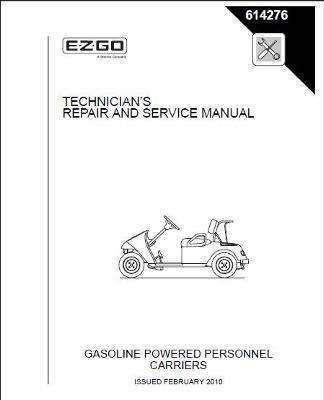 Amazon.com: EZGO 614276 2010 y servicio Manual de reparación ...