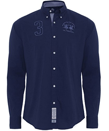 la-martina-regular-fit-manuel-cotton-shirt-navy-m