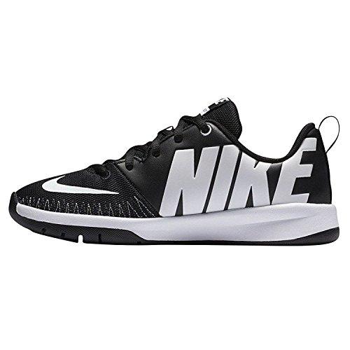 Nike Team Hustle D 7 Low (GS), Scarpe da Basket Uomo Bianco (Black / White) (Nero)