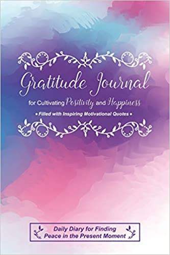 gratitude journal for cultivating positivity and happiness filled