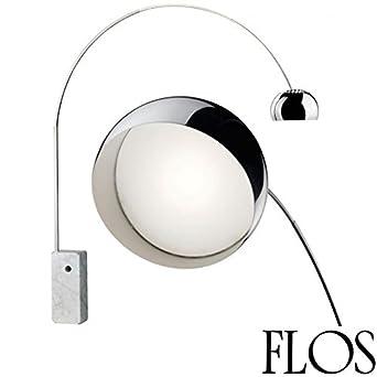 Flos Arco LED Lampada da Terra F0303000 Achille Castiglioni made in ...