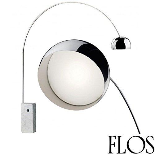 Flos Arco Led Lampada Da Terra F0303000 Achille Castiglioni Made In