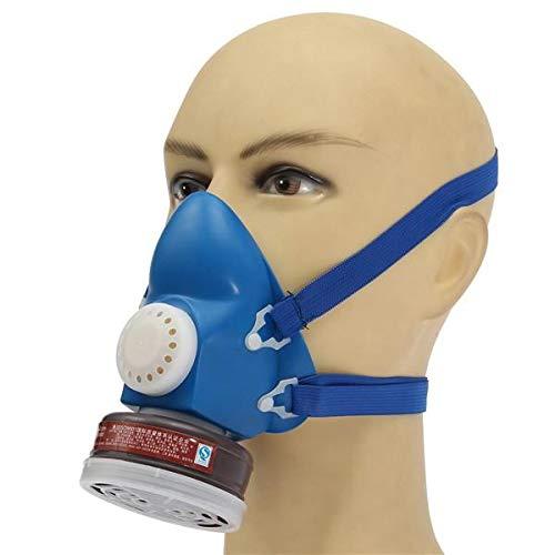 Tank Gas Mask - GIlH Self Priming Filter Cartridge Half Gas Organic Vapor Mask Respirator Single Tank