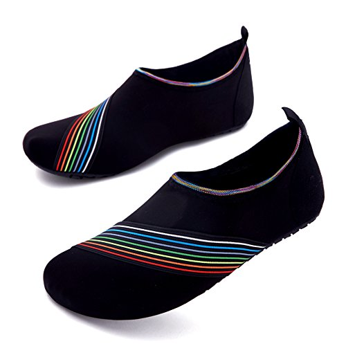 Women Black Kids Quick Giotto Water Slip Shoes Swim bevel Men Dry E1 Non Barefoot wnOzRZ
