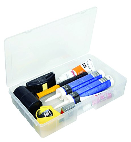 Flambeau 7000R Tuff Tainer Double Deep Storage Box, Open Core with Rails