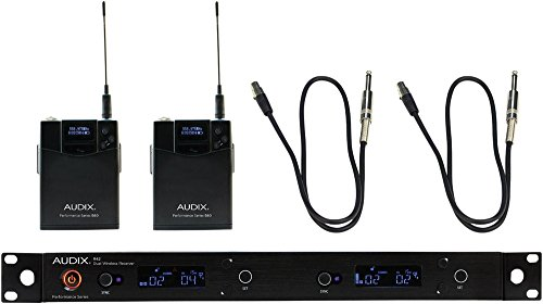Audix AP42 Dual GUITAR Instrument Wireless System 554-586 MHz