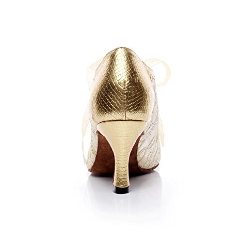Baile Salsa Modelando Latino Jshoe De Zapatos Durable Mujer Para qRdIz8I
