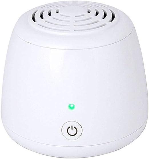 Ningz0l Mini purificador de Aire USB portátil Eliminar la máquina de desinfección por ozono de Iones Negativos de Escritorio multifunción de Autos de Escritorio ...