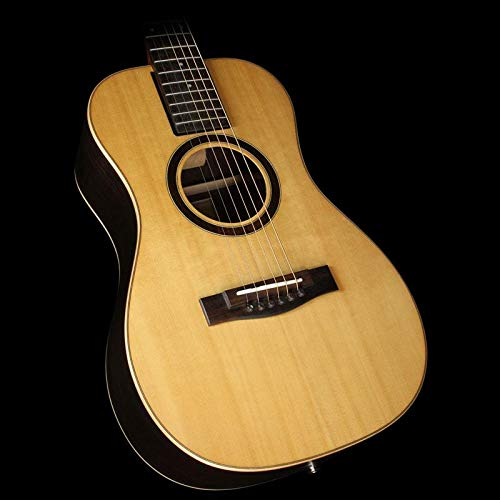 Lefty Collapsible Travel Guitar, Left Handed Acoustic Electric Guitar – OF420 Overhead Solid Sitka/Pau Ferro