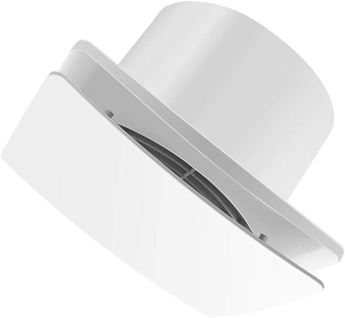 Extractor de aire QIQIDEDIAN Ventilador de Escape Ventana de Vidrio de 6 Pulgadas con baño Extractor de ventilación Pared pequeña Tipo Pared de la Fila Mute: Amazon.es: Hogar