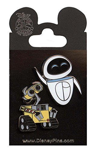 Disney Pin - Wall-E and Eve (2 Pin Set)