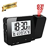 Best Projection Clocks - Projection Alarm Clock ALLOMN USB Charging Dual Alarms Review