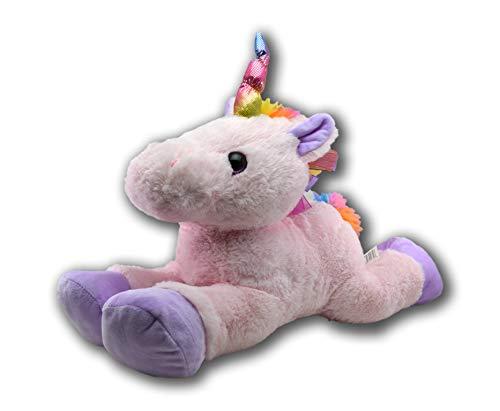 Kellytoy Laying Unicorn Plush Stuffed Animal Large 20