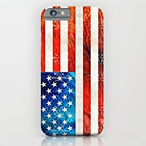 Society6 - American Flag Art - Old Glory - By Sharon Cummings iPhone 6 Case by Sharon Cummings