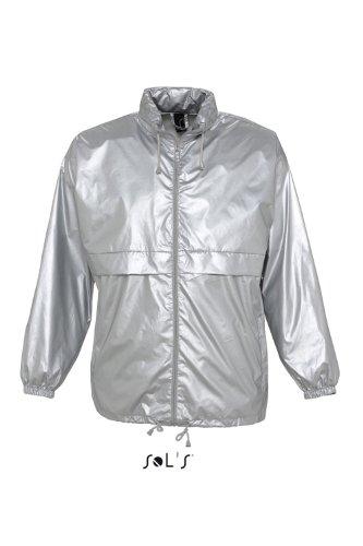 SOL´S - Windjacket Flash XXL,Silver