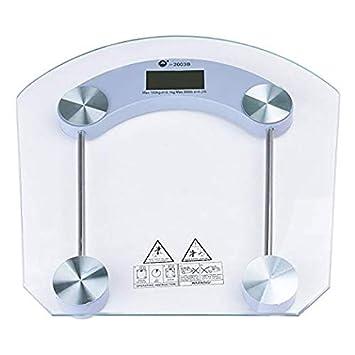 Amazon.com: Báscula digital para el baño, peso corporal, con ...