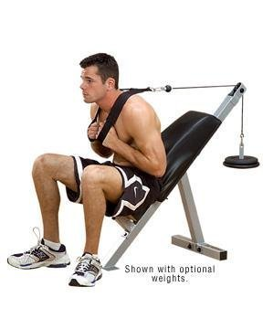 Powerline Ab Bench by Body-Solid