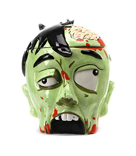 zombie head cookie jar - 1