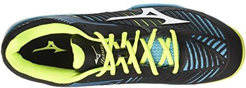 Mizuno Men's Wave Exceed Tour Cc Tennis Shoes Multicolor (Blueatollwhiteblack) AtSqFve2h