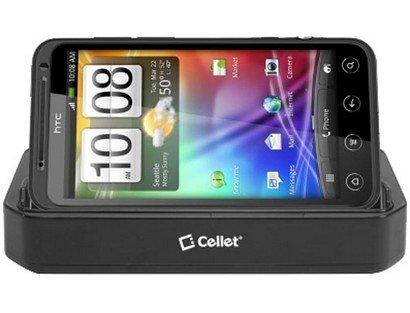 Cellet Cradle Charger for HTC EVO 3D - Black