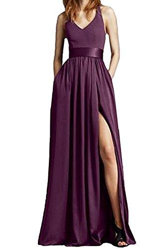 the Linie of Kleid Grape Damen A Beauty Leader 5BCwq