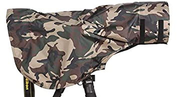 ROLANPRO Rain Cover Raincoat for Telephoto Lens Rain Cover//Lens Raincoat Army Green Camo Guns Clothing XS