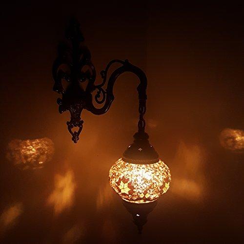 Turkish moroccan style mosaic wall light lamp uk seller g5single turkish moroccan style mosaic wall light lamp uk seller g5single wall light aloadofball Gallery