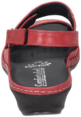 Comfortabel Kläder-sandale Röta 710.874 Till 4 Röd
