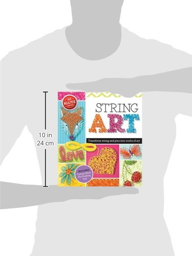 419gW8Ve68L - Klutz String Art Book Kit