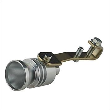 tianxiaw- Car Turbo silbido del turbocompresor - Plata (Talla L)