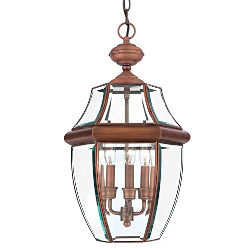 Traditional Copper Pendant Light in US - 9