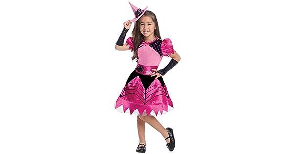 Amazon.com: Barbie disfraz de bruja, 1 - 2 años, Un solo ...