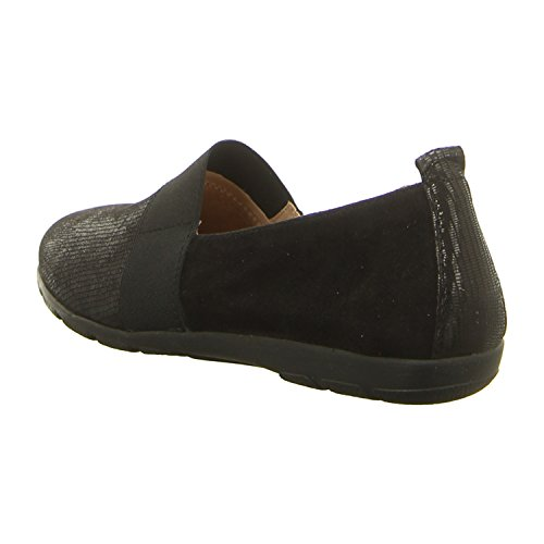 Caprice 24650 Damen Slipper black rep comb