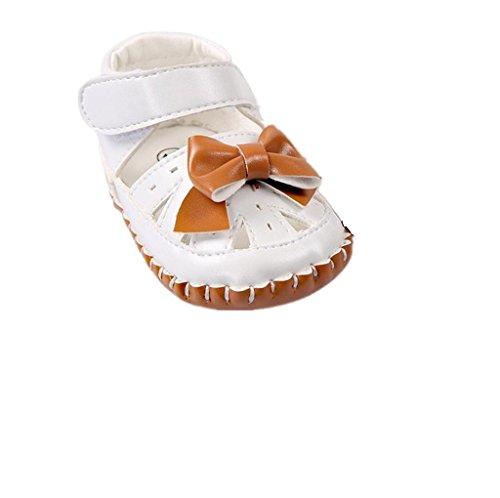 Koly manera del Bowtie de la marrón resorte cuero Sandalias de muchachas las de de w87wqT