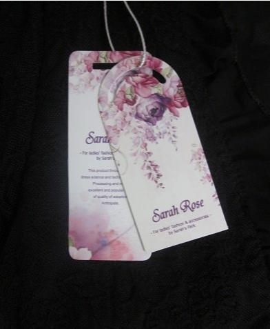 SARAH ROSE(サラローズ) レース ボレロ カーディガン レディース トップス 半袖 花柄 シースルー サマーカーディガン 羽織 黒 白 総レース