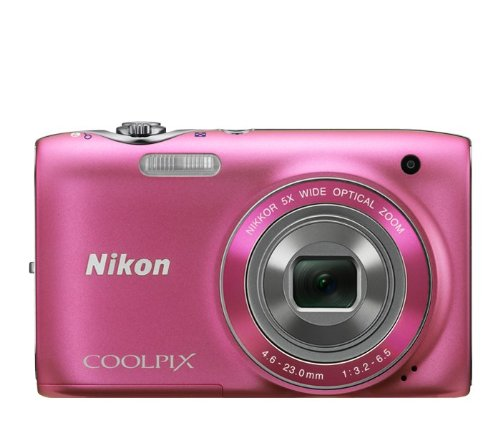 Nikon COOLPIX S3100 14 MP Digital Camera with 5x NIKKOR W...