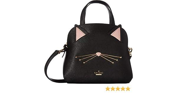 873c59525f4c Amazon.com  Kate Spade New York Women s Cat s Meow Cat Small Lottie Black  One Size  Shoes